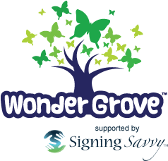 WonderGrove supported by Signing Savvy