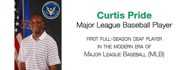 Living Loud: Curtis Pride - Major League Baseball Player