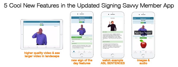 5 Cool New Features in the Updated Signing Savvy Member App