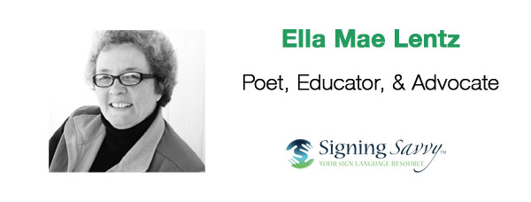 Living Loud: Ella Mae Lentz - Poet, Educator, and Advocate