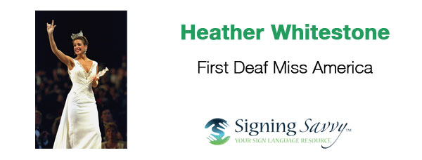 Living Loud: Heather Whitestone - First Deaf Miss America