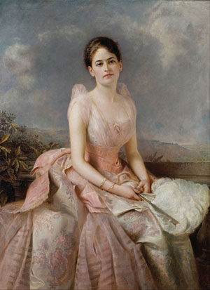 Painting of Juliette Gordon Low by Edward Hughes