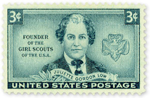Juliette Gordon Low 1948 U.S. Postage Stamp