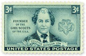 Juliette Gordon Low 1948 U.S. Postage Stamp