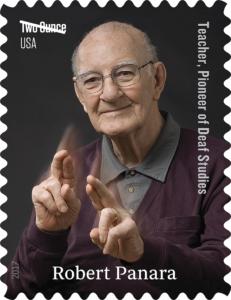 Robert Panara US Stamp