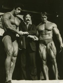 Lou Ferrigno at bodybuilding competition