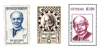 Charles Nicolle Postage Stamps