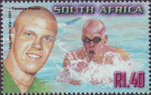 Parkin South African Stamp