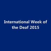 Deaf Awareness Week 2015