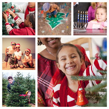 What do holiday traditions look like to your family?