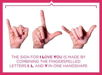 I + L + U = I Love You
