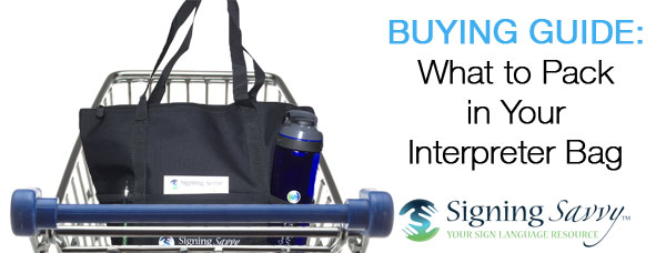 Buying Guide: What to Pack in Your Interpreter Bag