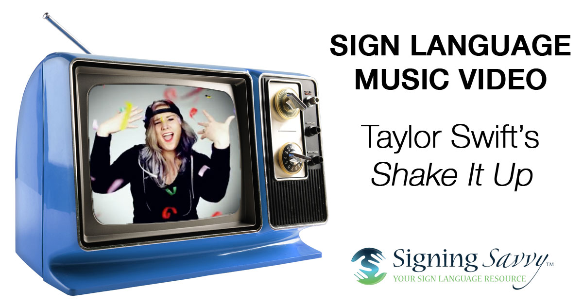 Sign Language music taylors