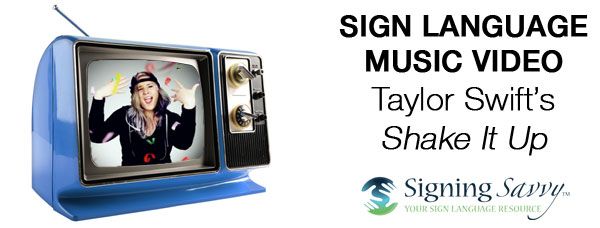 Great Sign Language Music Video Performance of Taylor Swift's Shake It Off