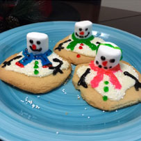 Final Melting Snowman Cookies