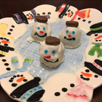Cooking Up Language with Signs: Frosty the Snowman Oreo Truffles