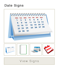Date Signs