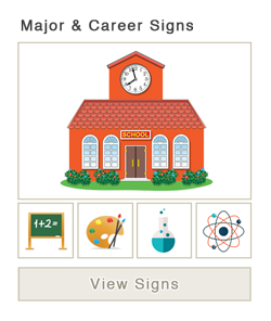 Major and Career Signs